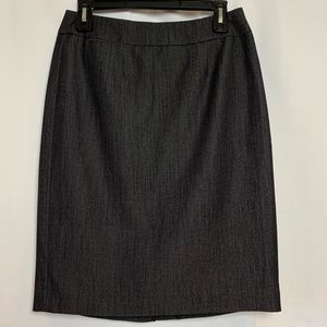 Calvin Klein Pencil Skirt Stretch Back Zip Size 2